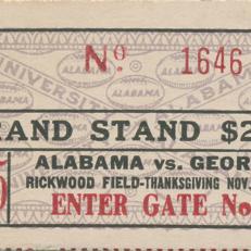 Alabama Ticket