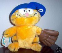 Stuffed Garfield Pitcher