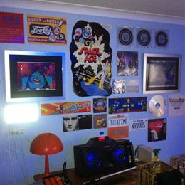The 80's wall