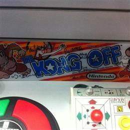 Signed Kong Off marquee (# 69)