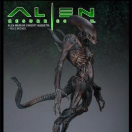 A_Alien Warrior Concept Maquette | Faux Bronze | Alien Resurrection