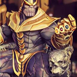 M_Thanos on Throne Maquette | EX