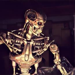 T_T800 Endoskeleton Maquette
