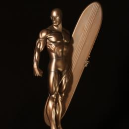 #201 Silver Surfer Faux Bronze