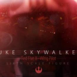 Luke Skywalker   Red Five   X-Wing Pilot