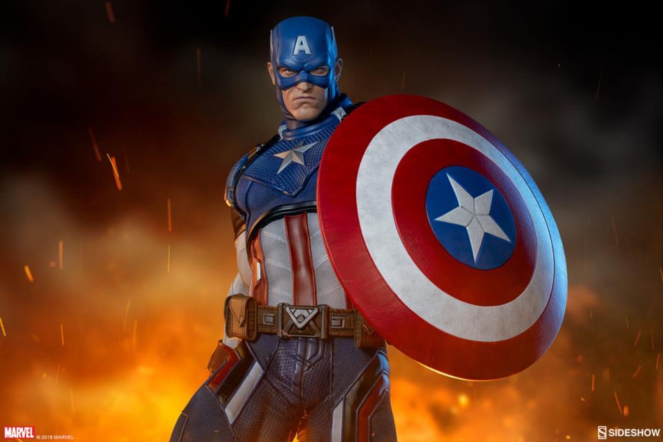 Captain America Premium Format