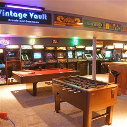 Vintage Vault Arcade and Gameroom