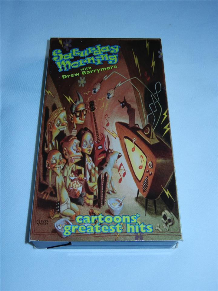 Saturday Morning Cartoons VHS