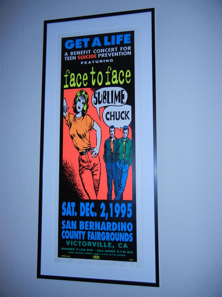 """Get A Life"" Concert Poster"