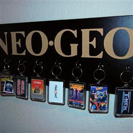 Arcade Key Rack