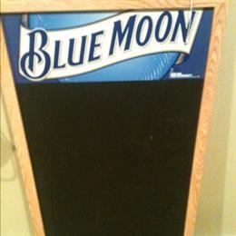 Blue Moon Chalkboard