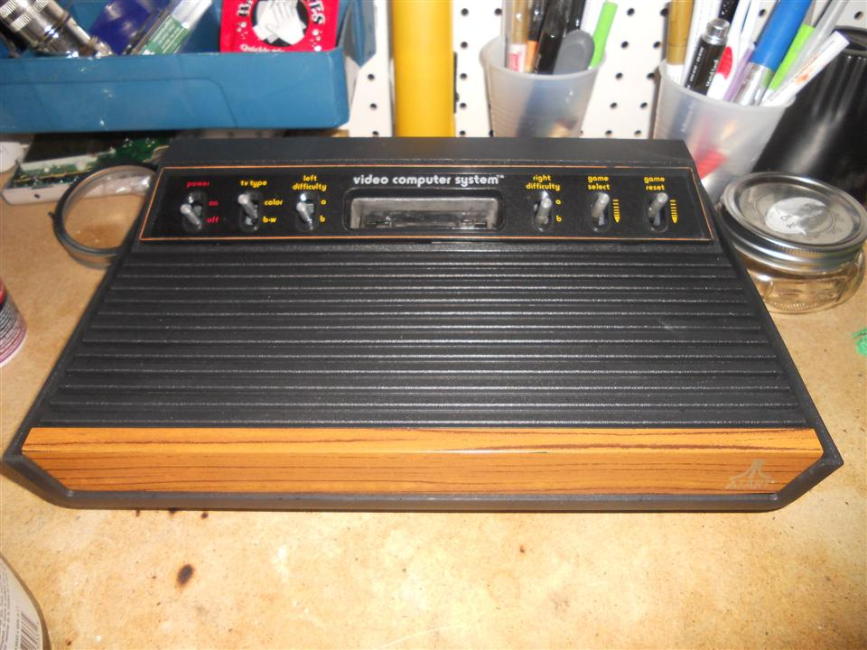 Factory Testing Atari 2600 Light Sixer