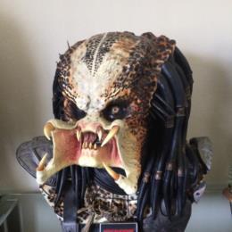 Predator 1 Life Size Bust