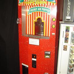 Automatic Popcorn machine