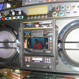 Mark little 39 s the big 80 39 s ghettoblasters collection collected it - Lasonic ghetto blaster i931x ...