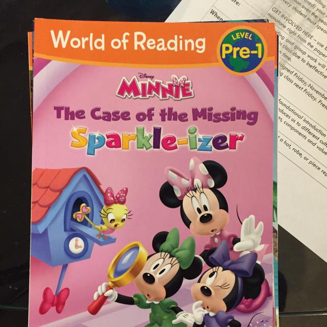 Minnie The Case Of The Missing Sparkle-izer