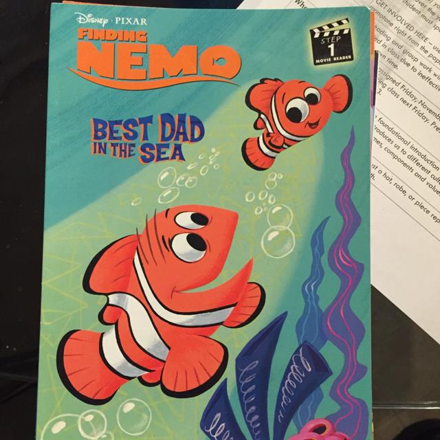 Nemo Best Dad In The Sea