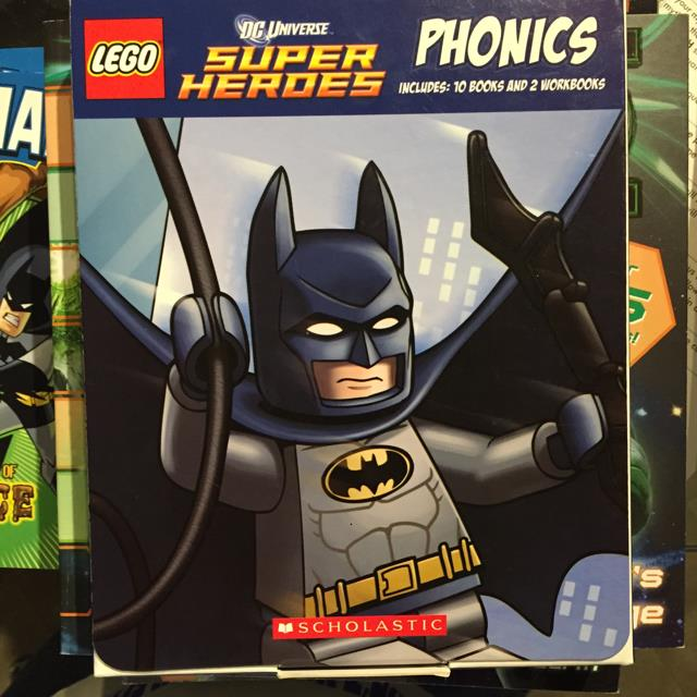 Lego Super Heros Phonics
