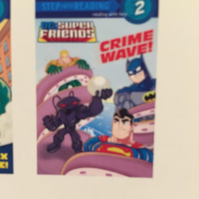 Super Friends Crime Wave!