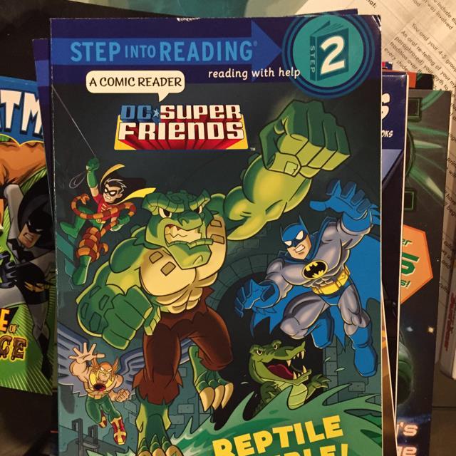 Super Friends Reptile Rumble