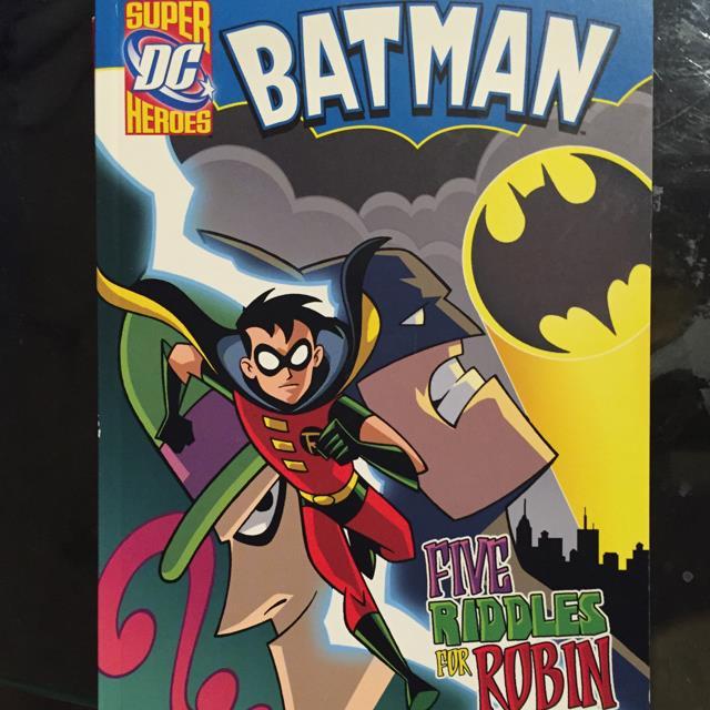 Super Heros Five Riddles For Robin