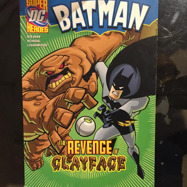 Super Heros The Revenge Of Clayface