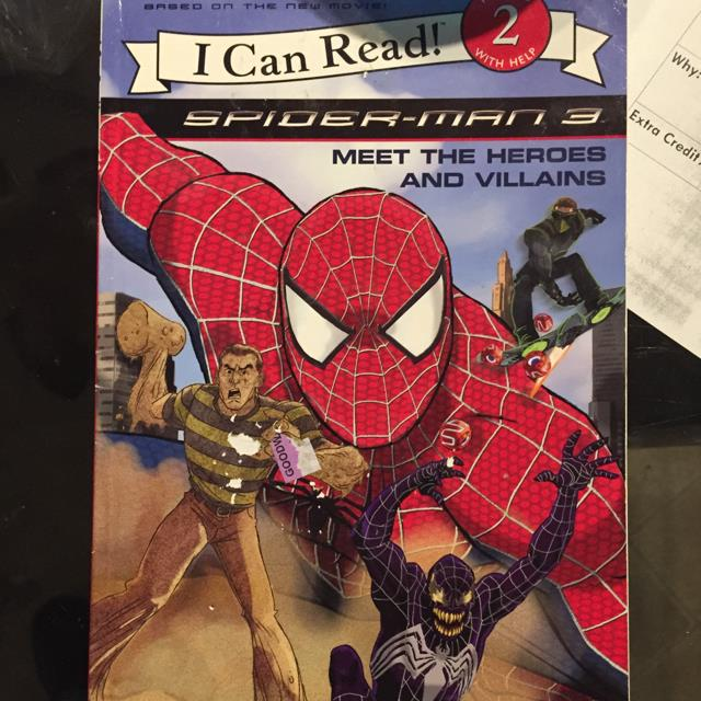 Spider-man 3 Meet the Heros and Villains