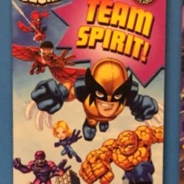 Super Hero Squad Team Spirit!