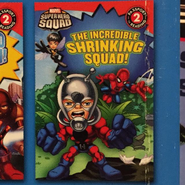 Super Hero Squad the Incredible Shrinking Squad