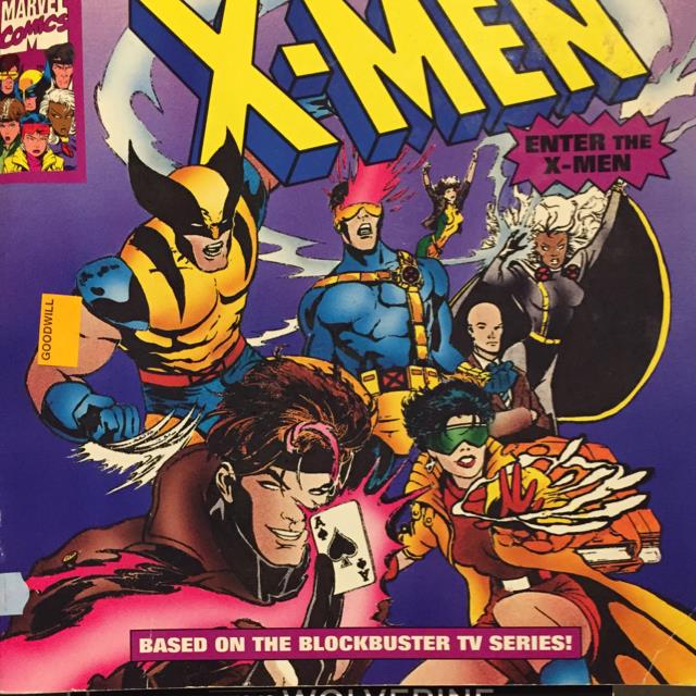 X-Men Enter the X-Men