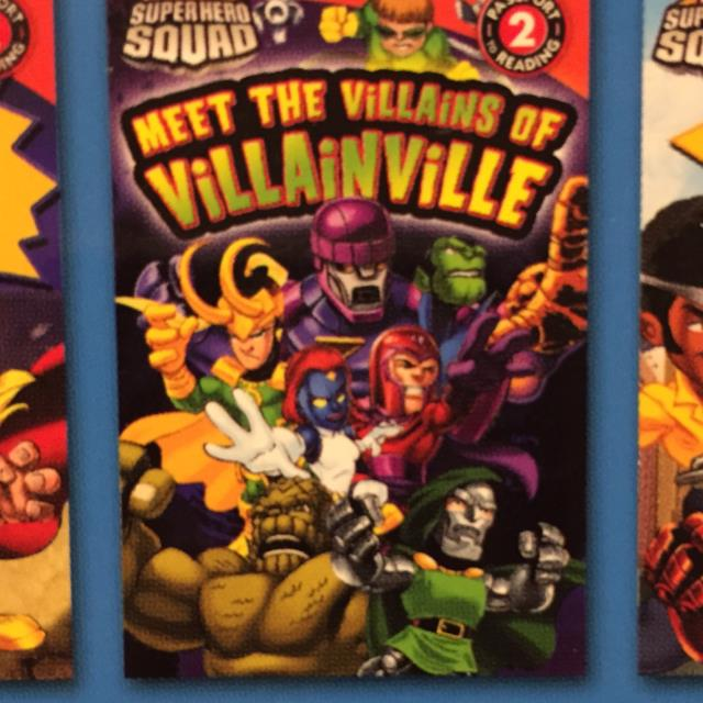 Super Hero Squad Meet the Villains of Villainville