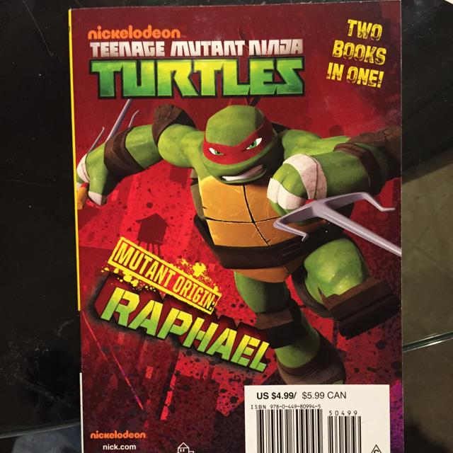 Mutant Origin: Raphael/Michelangelo