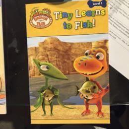 Dinosaur Train Tiny Learns to Fish!