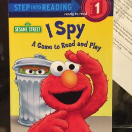 Sesame Street I Spy A Game to Read and Play