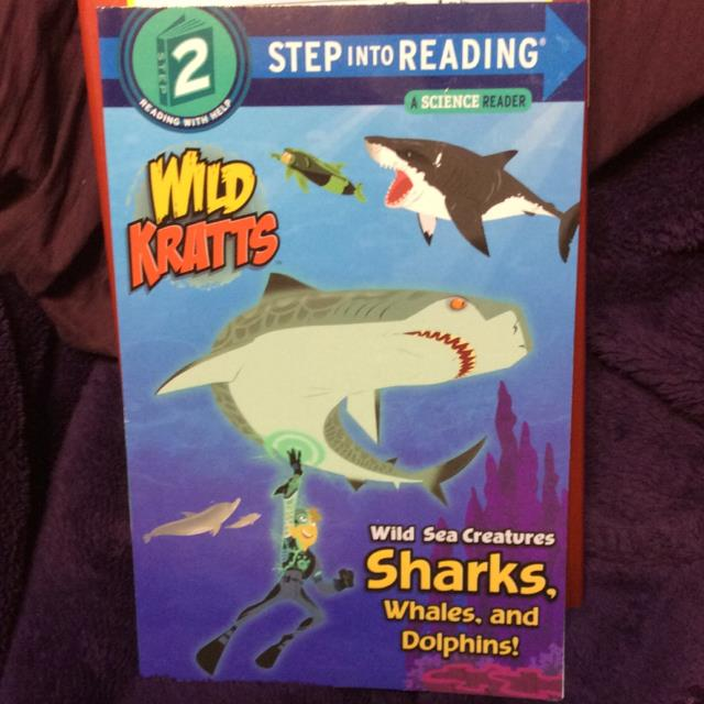 Wild Kratts Sharks Whales Dolphins