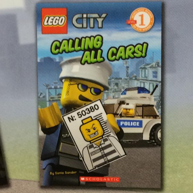 Lego City Calling All cars