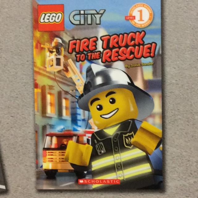 Lego City Fire Truck To The Rescue