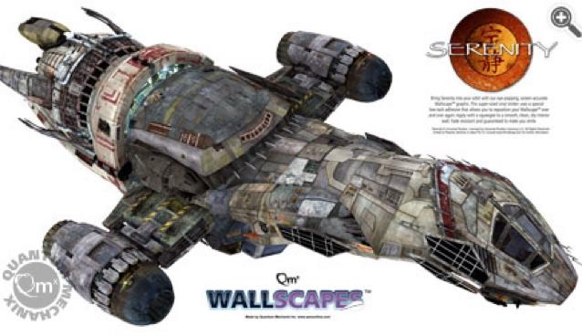 "Serenity Wallscape 48"" Wall Decal"