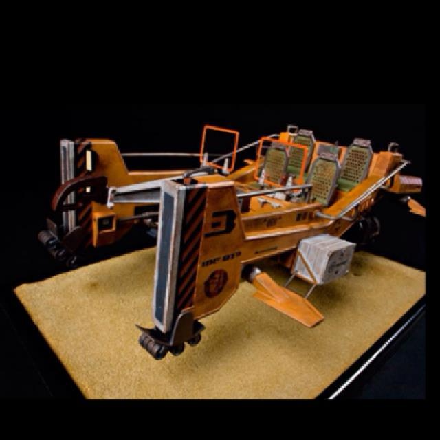 MF-813 Flying Mule Studio Scale Replica