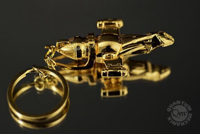 Firefly Gold Key Chain