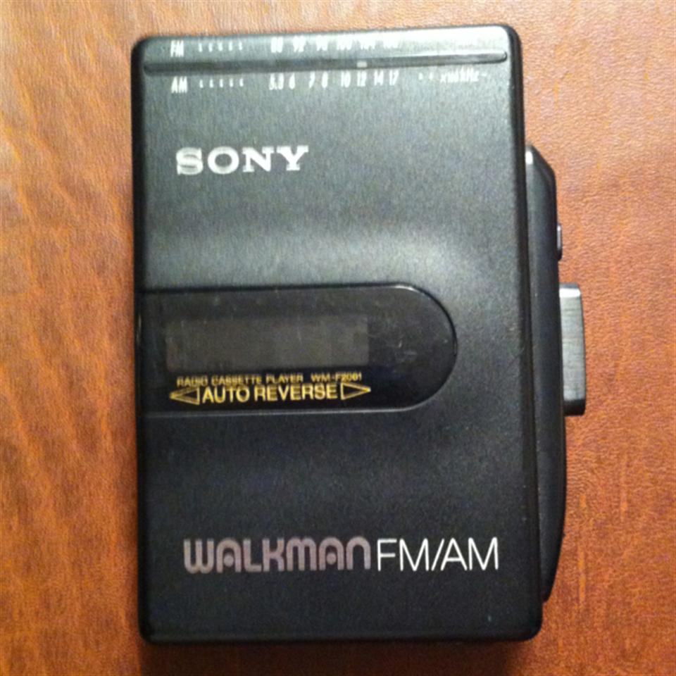Sony Walkman With Radio