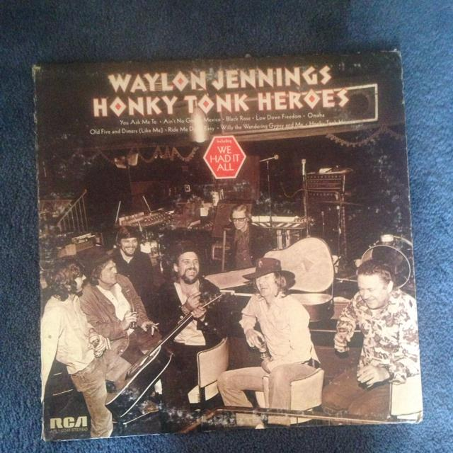 Waylon Jennings Honk Tonk Heros