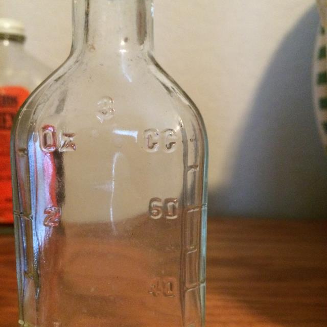 Old Measuring Bottle