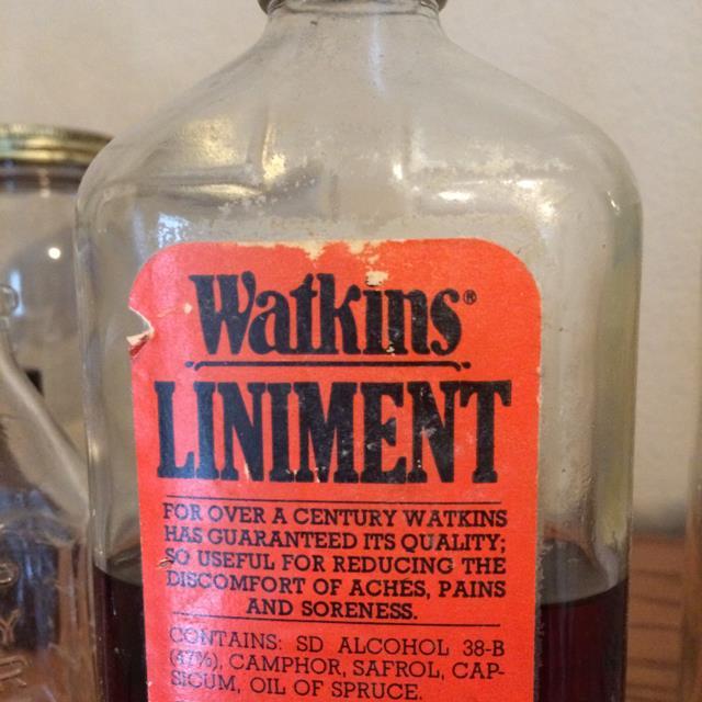 Watkins Liniment Bottle