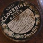 White Cloverine Salve Tin