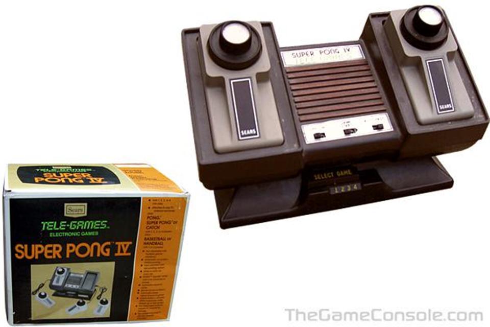 Sear Tele-Games Super Pong IV