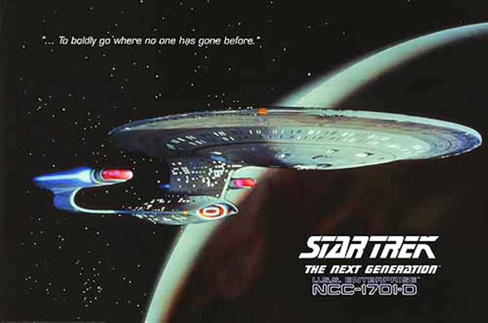 Enterprise D poster