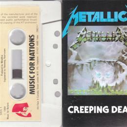 Creeping Death Cassette single