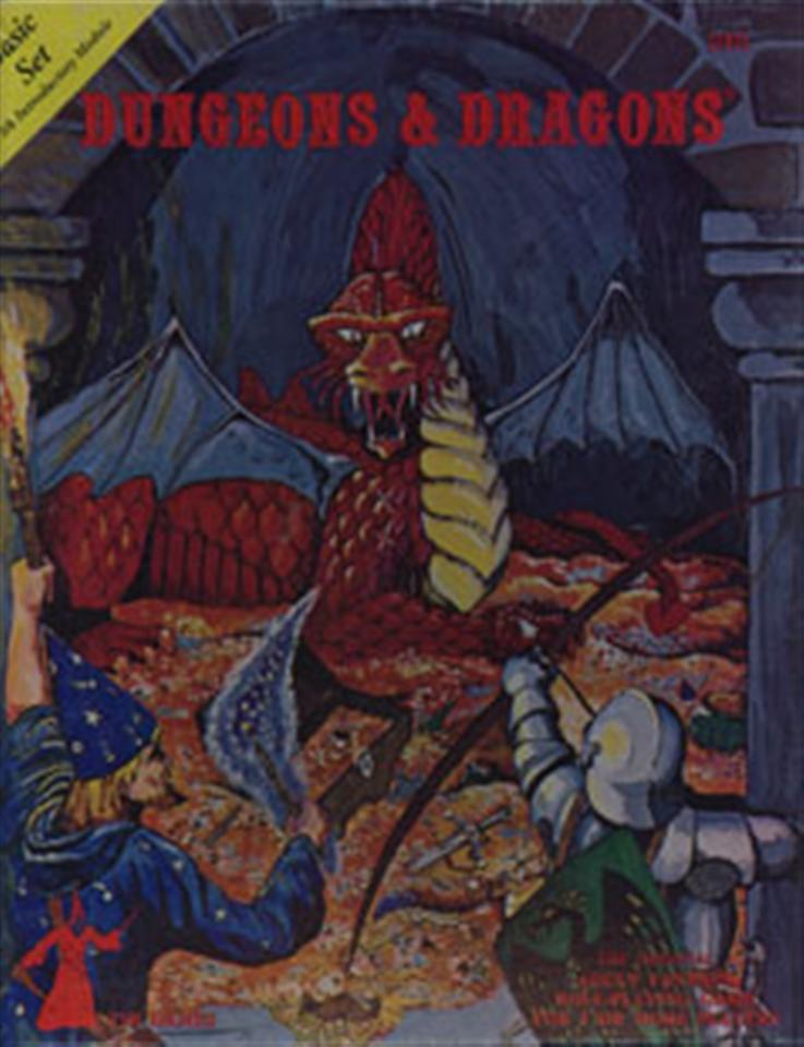 D&D Basic Box set