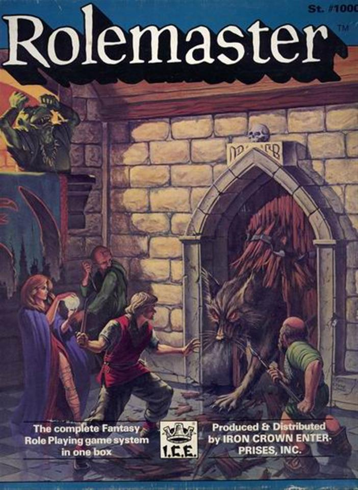 Rolemaster Boxed set #1000